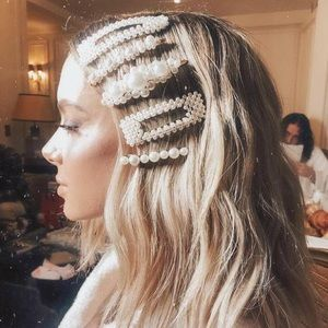 Accessories - NEW Ava Pearl Hair Clip Sets